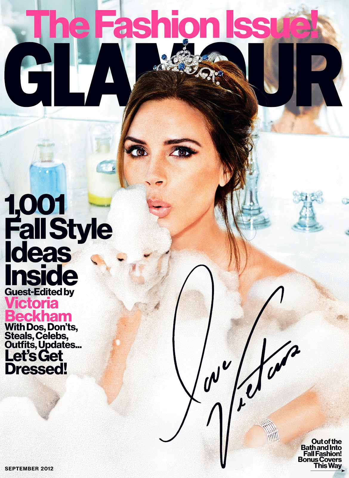 Fashion Issue Victoria Beckham Na Glamour Whatsinfashioncwb
