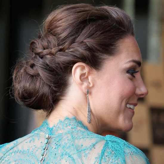Kate-Middleton-Wears-Braided-Bun-Up-Do