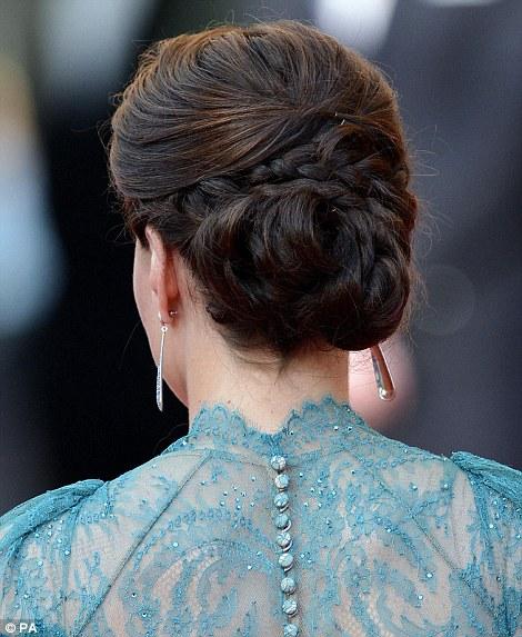 Kate-Middleton-Wears-Braided-Bun-Up-Do2