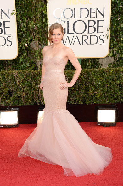 Amy Adams Wears Marchesa