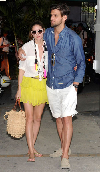 olivia-palermo-yellow-shorts