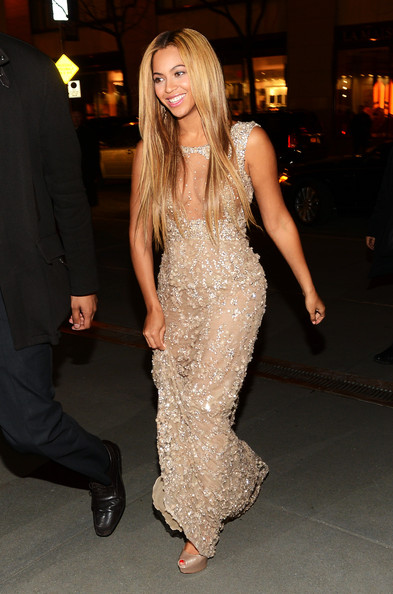 Beyonce Elie Saab 'Life Is But A Dream' premiere.