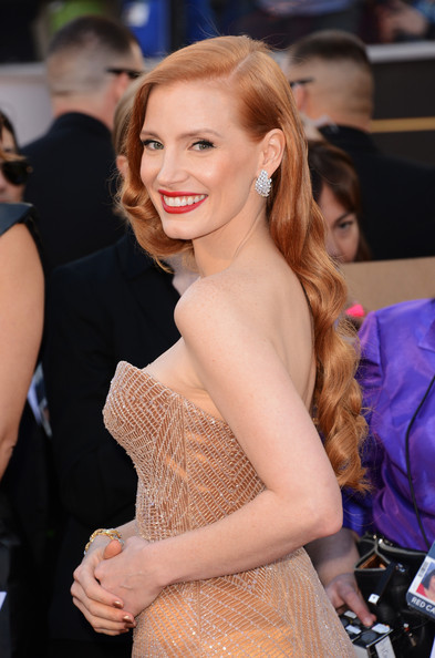 Jessica+Chastain+85th+Annual+Academy+Awards+0MLfCsH47Bfl