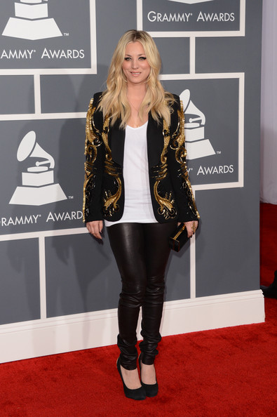 Kaley+Cuoco+55th+Annual+GRAMMY+Awards+Arrivals+nuihxHwwlpQl