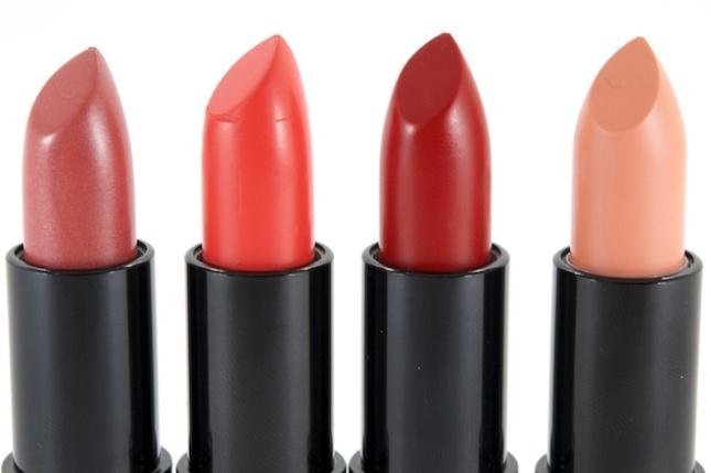 Rimmel Kate Moss Lasting Finish Matte Lipsticks (L-R) 105, 109, 111 & 113