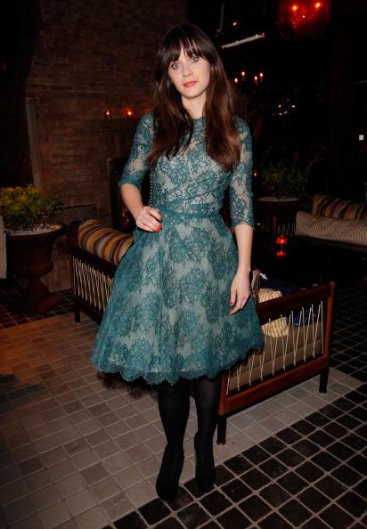 Cindi Leive Celebrates Glamour Cover Girl Zooey Deschanel