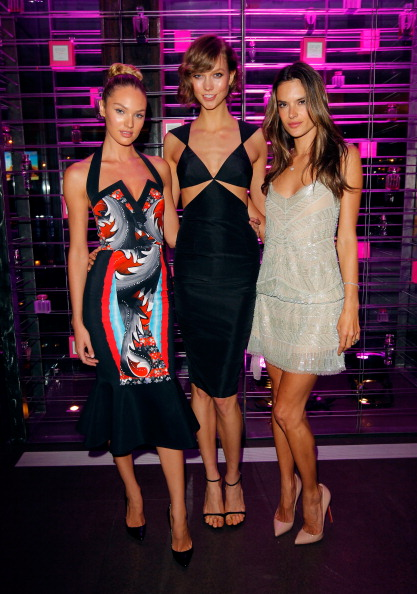 Alessandra Ambrosio, Candice Swanepoel, and Karlie Kloss Host Victoria's Secret SWIM 2013 Party