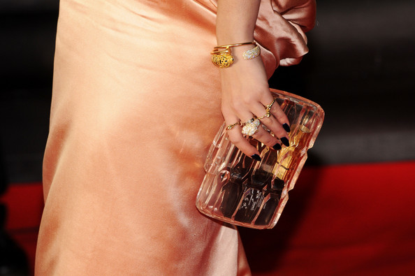 Rita Ora Hard Case Clutch