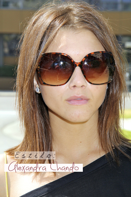 Alexandra Chando Enjoys A Sunny LA Day