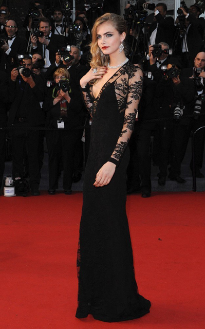 Cara+Delevingne+Arrivals+Cannes+Opening+Ceremony+XHX3KBMYPfTx