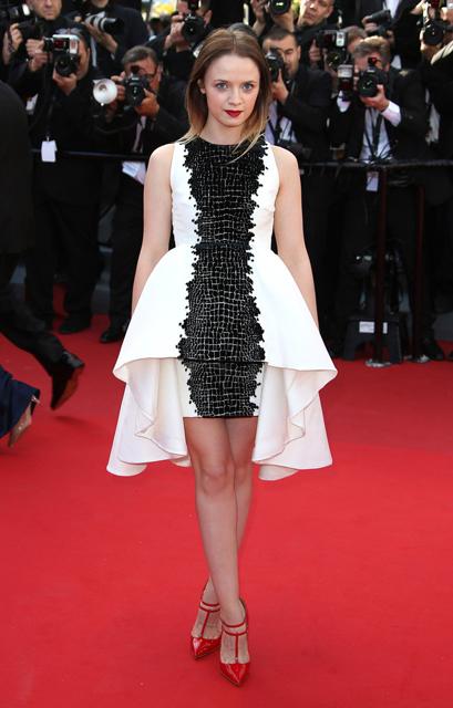 Sara-Forestier-Giambattista-Valli-Couture-Le-Passe-2013-Cannes-Film-Festival-Premiere