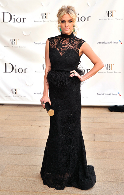 Ashlee Simpson attends American Ballet Theatre opening night Spring Gala at Lincoln Center in New York City.