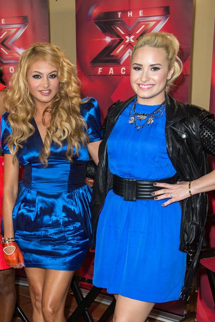Demi+Lovato+X+Factor+Judges+Promote+Their+UNloJYZvplkx