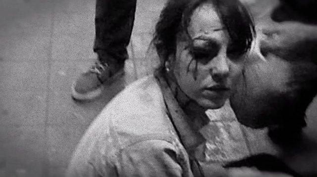 Giuliana Vallone; jornalista, ferida por uma bala de borracha em um dos grandes protestos em São Paulo.
