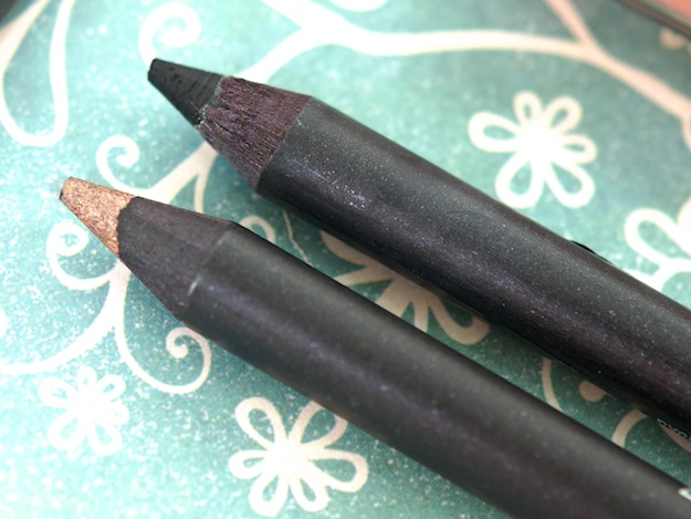 MAC Kohl Power Eye Pencils in Orpheus (left) & Feline (right) ($16 USD