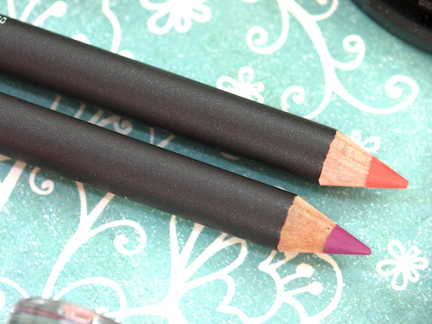 MAC Lip Pencils in Heroine (bottom) & Ablaze (top) ($15 USD