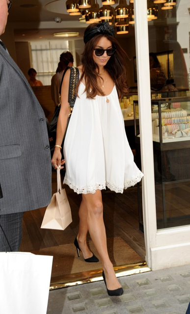 Vanessa+Hudgens+Vanessa+Hudgens london shopping