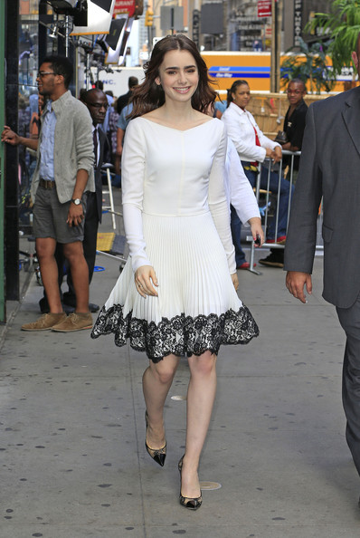 Lily+Collins+Lily+Collins+Stops+GMA+F-Ngr0oWuQRl