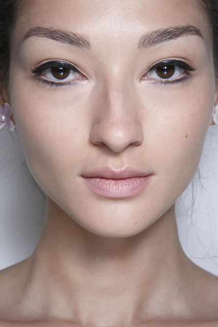 Beauty at Zac Posen Spring