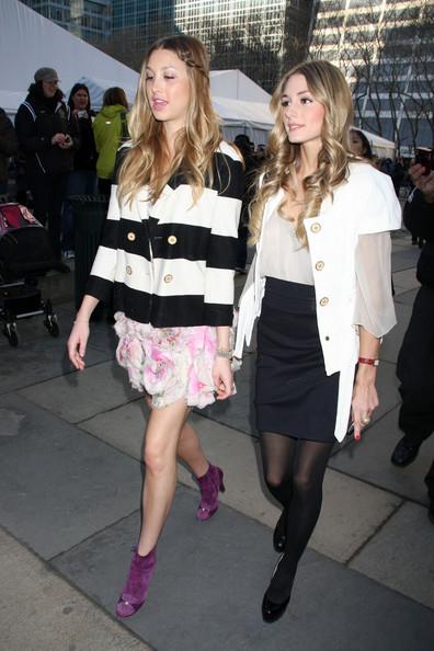 Celebrities+Fashion+Week+New+York+2009