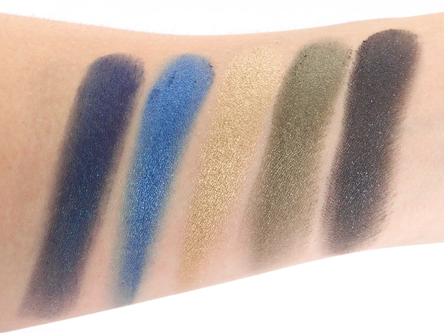 Row 2 Swatches (L-R) Prank, Madness, Strike, Stash & Poison