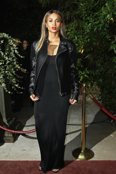 Ciara+Stars+Mademoiselle+C+Cocktail+Party+usando givenchy