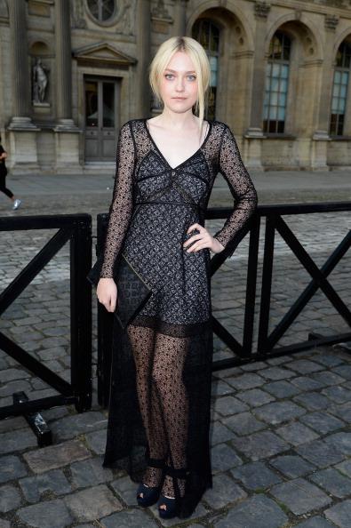 Louis Vuitton: Front Row - Paris Fashion Week Womenswear Spring/Summer 2014