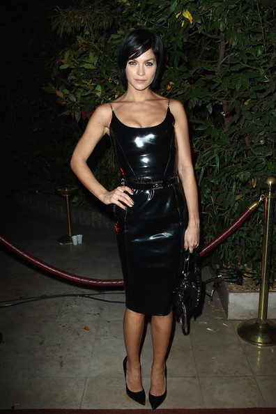 Leigh+Lezark+Stars+Mademoiselle+C+Cocktail+usando Versace