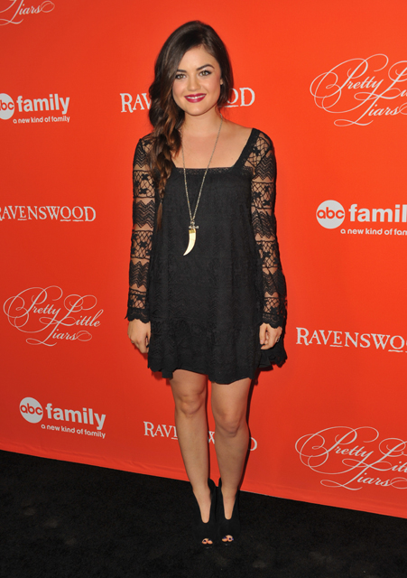 Lucy-Hale-at-Screening-of-Pretty-Little-Liars-Halloween-Episode-in-Hollywood-2