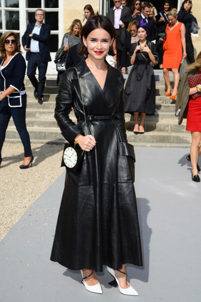 Christian Dior: Outside Arrivals - Paris Fashion Week Womenswear Spring/Summer 2014