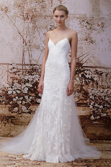 Monique Lhuillier F '14 Bridal look book