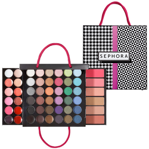 Medium Shopping Bag Holiday Makeup Palette