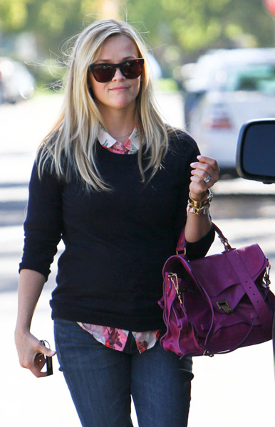 Reese-Witherspoon-Proenza Schouler PS1 Bag