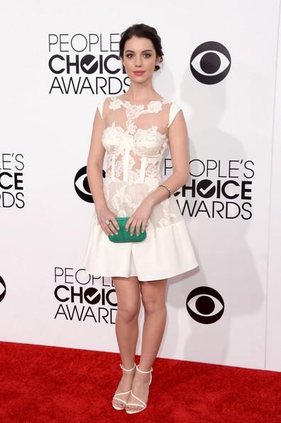 Adelaide Kane Wearing Rhea Costa