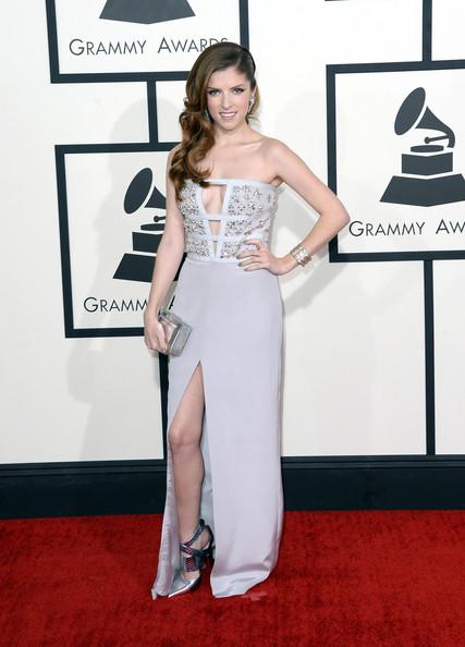 Anna Kendrick Wearing Azzaro