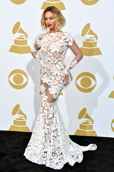 Beyoncé Wearing Michael Costello