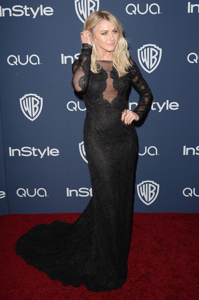 Julianne Hough Wearing  Emilio Pucci -2014 InStyle And Warner Bros. Golden Globes After-Party