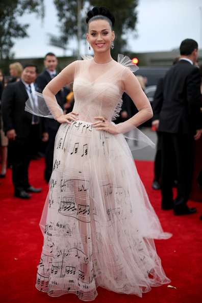Katy Perry Wearing Valentino Couture