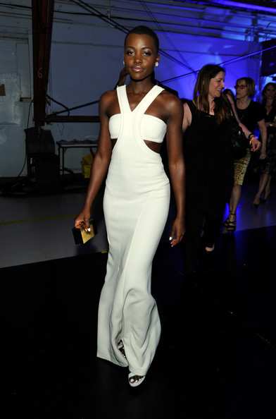 Lupita Nyong'o Wearing Calvin Klein Collection