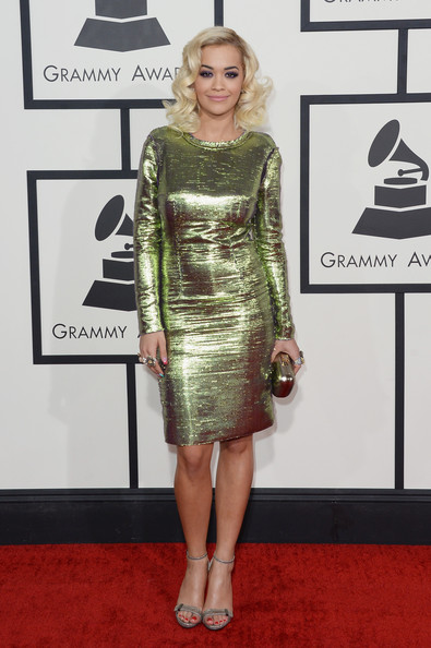 Rita Ora in Lanvin