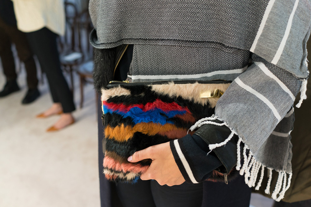 3.1 Phillip Lim Ryder Fur Clutch