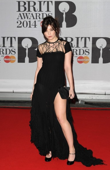 Daisy Lowe Wearing Sibling – Brit Awards 2014