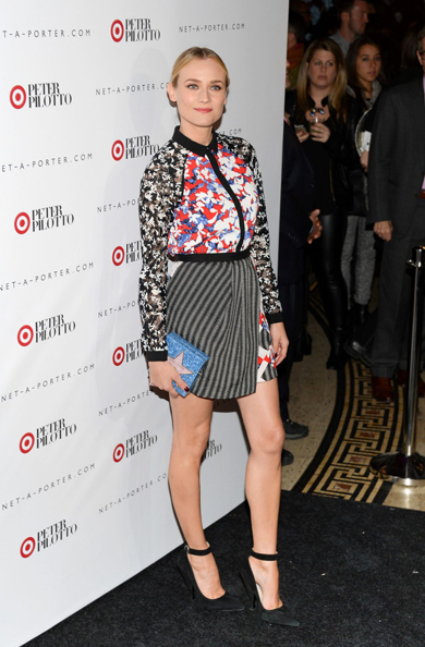 DIANE KRUGER at at Peter Pilotto for Target Launch Event in New York