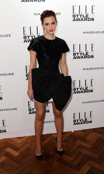 Emma+Watson+Arrivals+ELLE Giambattista Valli