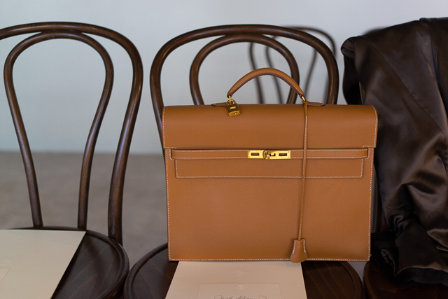 Hermes Kelly Depeche Briefcase