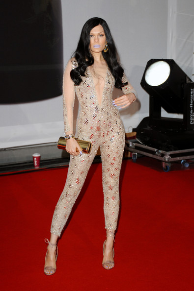 Jessie J Wearing Julien Macdonald