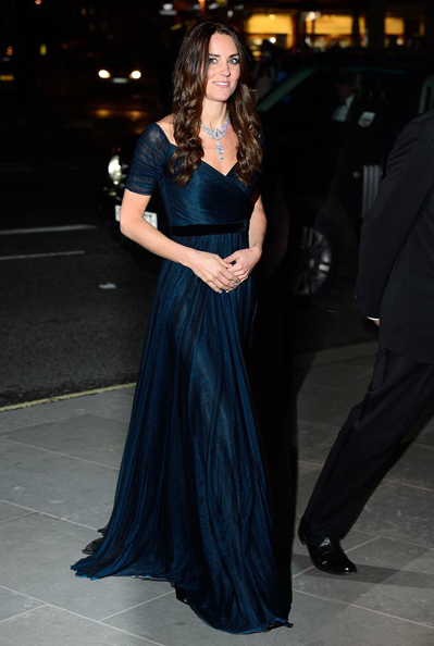 Kate Middleton Portrait Gala Jenny Packham