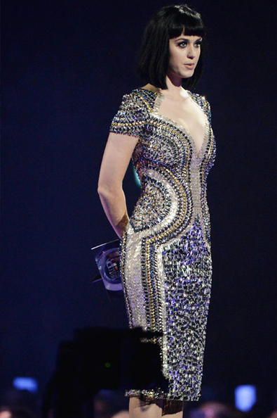 Katy Perry in Julien Macdonald maior