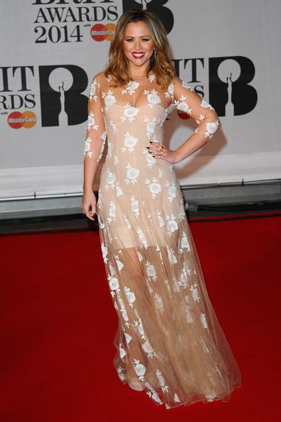 Kimberley Walsh Wearing Blumarine