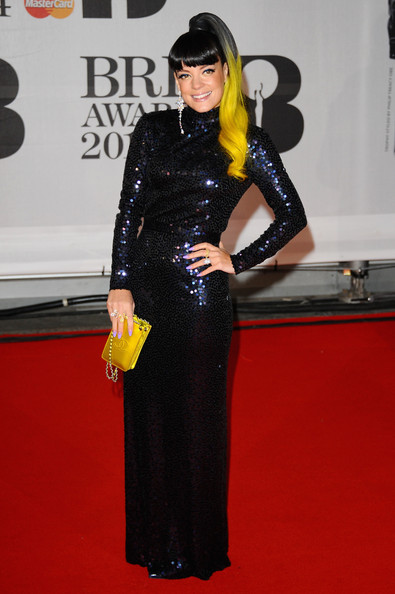 Lily Allen Wearing WilliamVintage